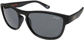 Superdry Unisex Sunglasses - matte black/solid smoke SDROCKSTAR-104B - size 54-17-139mm