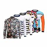 Camiseta de deporte para hombre de manga larga, colección otoño 2017 de Uglyfrog, camisetas de ciclismo de carretera, CXHB03, hombre, color A10, tamaño XXL