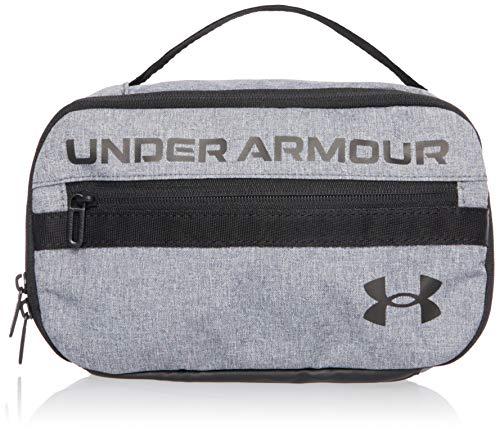 Under Armour Contain Travel Kit Reise-Set, Pitch Gray Medium Heather/Black/Black (012), Einheitsgröße
