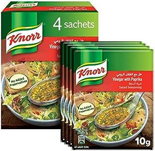 Knorr Salad Mixes Vinegar & Paprika - 10gm (Pack of 4)