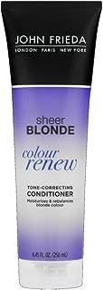 John Frieda sheer blonde Color Renew Tone Restoring Conditioner 8.45 oz (Pack of 4)