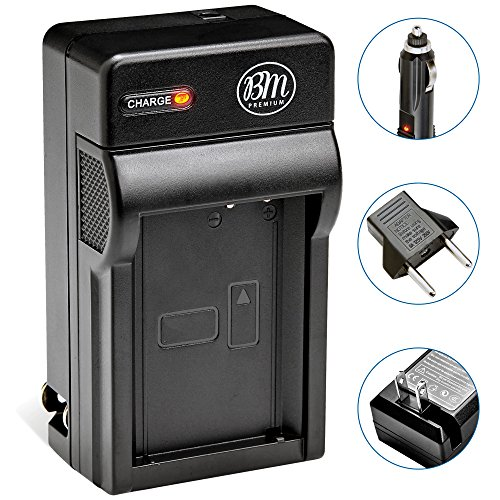 Premium Tech Fully BLH-1 Battery Charger for Olympus OM-D E-M1 Mark II, OM-D E-M1X, BCH-1, HLD-9 Cameras