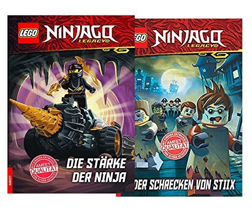 Lego Ninjago – La fuerza de los ninja + el horror de Stiix, para principiantes a partir de 6 años