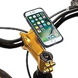 TiGRA Sport スマホホルダー 自転車 スマホ ホルダー スマホスタンド バイク iPhone8 iPhone7 MountCase for iPhone 8/7【簡単2タッチで着脱】