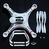 LIZONGFQ Cubierta de Carcasa de Cuerpo F09179 + Hoja de hélice + Kit de Aterrizaje + Juego de Cubierta de hélice para Cheerson Cx-20 Cx20 RC Drone de Repuesto