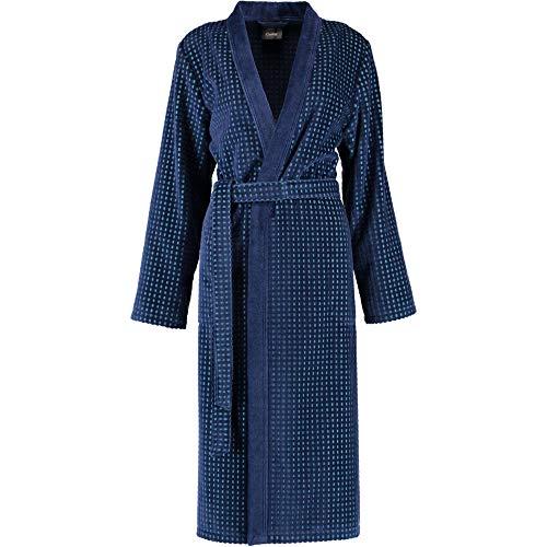Michaelax-Fashion-Trade Cawö - Damen Bademantel Kimono Hoch-Tief-Velours (6126)