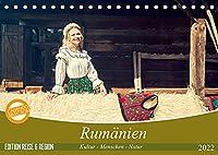 Rumaenien Kultur - Menschen - Natur (Tischkalender 2022 DIN A5 quer): Ein fotografischer Streifzug durch Rumaeniens besondere Landschaften und reichhaltige Kultur. (Monatskalender, 14 Seiten )