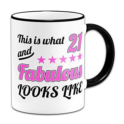 Thee mok, Dit is Wat 21 en Fabulous Ziet eruit als Gift Mok 11oz