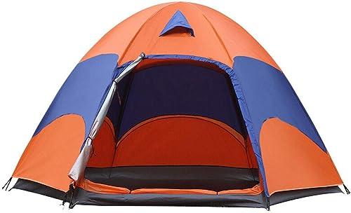 Outdoor tent Double Tente Hexagonale avec Tente Imperméable Et Coupe-Vent De Haute Qualité en Tissu Design Portable Unisexe Y0622QW