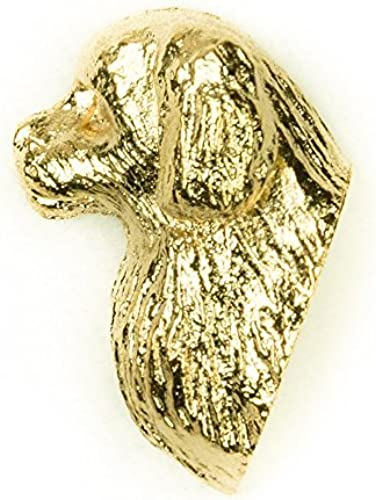 mejor opcion TIBETAN SPANIEL Made in U.K U.K U.K Artistic Style Dog Clutch Lapel Pin Collection 22ct oro Plated by DOG ARTS JP  alta calidad general