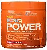 EPIQ - Power Pre-Training Amplifier Fruit Punch 40 Servings - 280 Grams