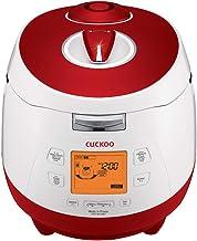 CUCKOO CRP-M1059F Cuiseur de riz à vapeur sous pression programmable en acier inoxydable, autocuiseur et mijoteuse.