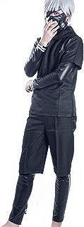 Ken Kaneki Cosplay Costume Anime Uniform Hoodie Full Outfit