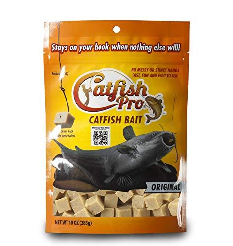 Catfish Pro Original Catfish Bait Catches Blues Channels Bullheads Even Flatheads