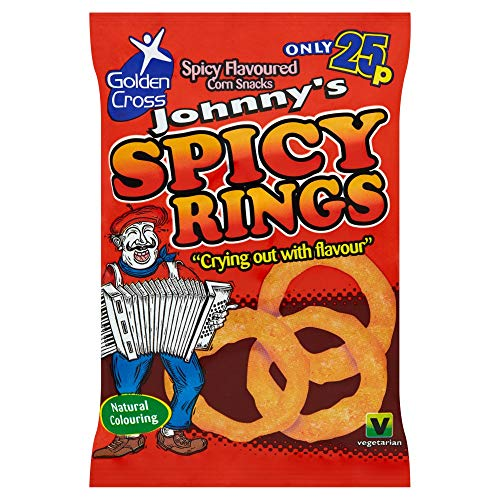 Johnny's Spicy Rings 22g (Box of 36)
