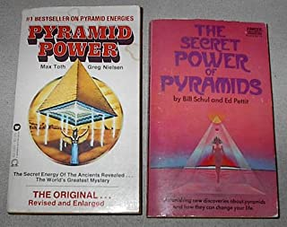 Pyramid Energy set of two books: Pyramid Power & The Secret Power of Pyramids
