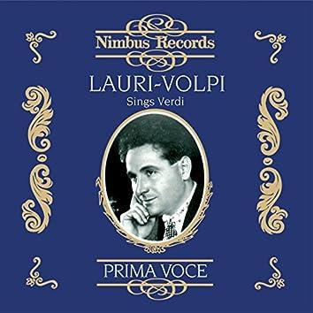 Lauri-Volpi Sings Verdi