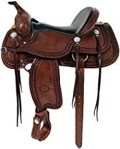 Billy Cooks Saddle for the Trails 10-1777 16P 16inch Pecan