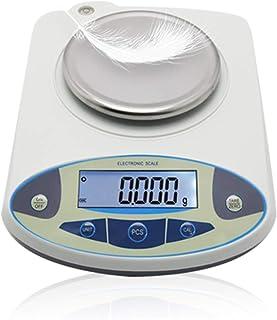 CGOLDENWALL Balanza de Precisión 300g, 0.001g de Sensor de Alta Tenología Báscula Digital Ideal para Lab Escuela Joyería Cocina - Ya Calibrada y Lista para Usar