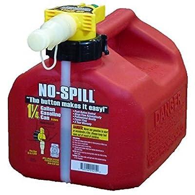 No Spill 1415 CARB Compliant Gas Can, 1-1/4-Gallon