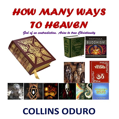 How Many Ways to Heaven audiobook cover art