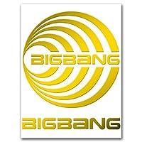 カッティングステッカーL 『BIGBANG』 円 金 035G