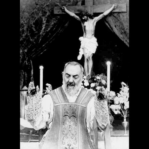 Couverture de A Rare Recording of Padre Pio
