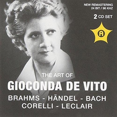 Gioconda Da Vito Violine by Brahms, Handel, Bach, Corelli (2012-01-01)