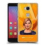 Head Hülle Designs Offizielle Doctor Who Jodie Whittaker Solo Portraits Soft Gel Handyhülle Hülle Huelle kompatibel mit Huawei Honor 5X / GR5