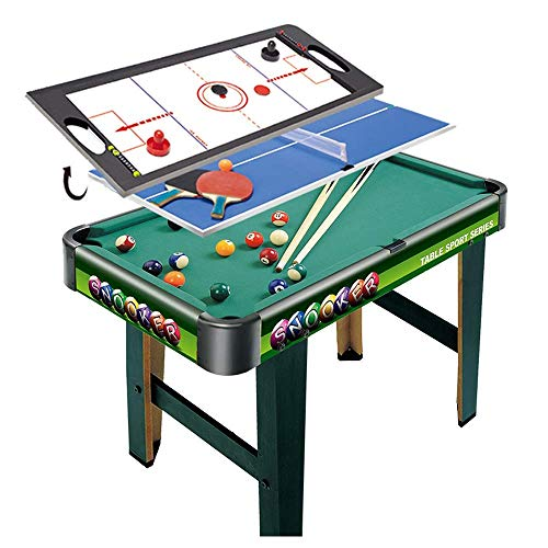 Yxxc Multi Game Combination Table Set Indoor Game Tisch 3 In 1 Entertainment Table 32
