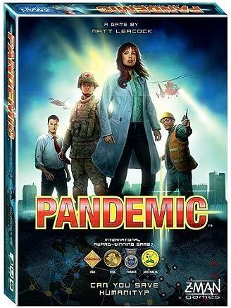 Pandemic board game ‐ English edition