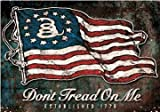 Don't Tread On Me 1776 Flag Vinyl Decal...
