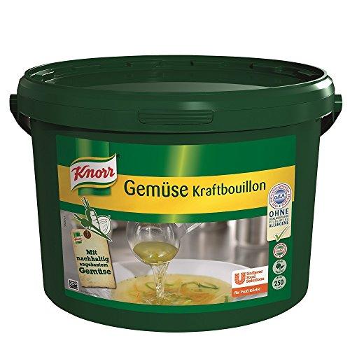 Knorr Gemüse Kraftbouillon Gemüsebrühe mit Suppengrün, rein pflanzlich, vegan 1er Pack (1 x 5 kg)
