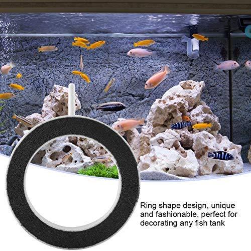 HEEPDD Fish Tank Luchtstenen, Ronde Ultra-Hoog Opgelost Zuurstof Diffuser Luchtzuurstofbeluchtingspomp voor Hydroponics Pond Aquarium