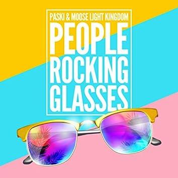 People Rocking Glasses