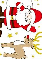igsticker ポスター ウォールステッカー シール式ステッカー 飾り 1030×1456㎜ B0 写真 フォト 壁 インテリア おしゃれ 剥がせる wall sticker poster 009161 クリスマス キラキラ キャラクター