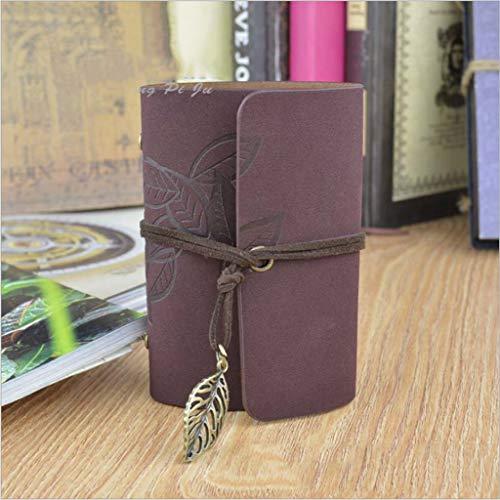 Caseyaria Einfache Retro-Tasche Multi-Zertifikat Visitenkarte Kartenaufbewahrungstasche 20-Kartenslot Gurt Design Kompakt Und Leicht,Kaffee