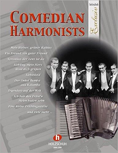 Comedian Harmonists für Akkordeon aus der Reihe Holzschuh Exclusiv