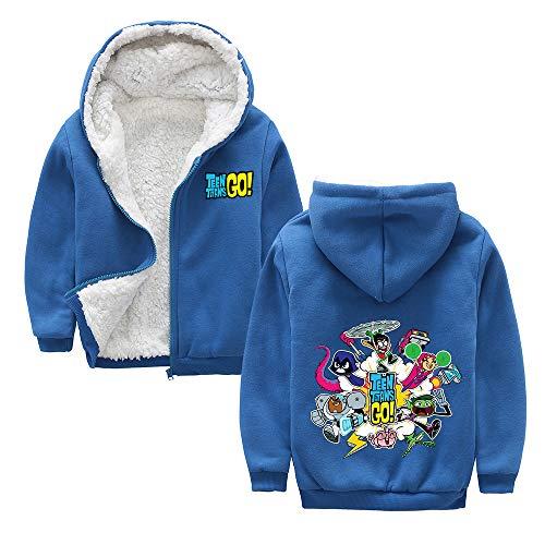 Teen Titans Go Pullover Retro de diseño de moda abrigos chaquetas de...