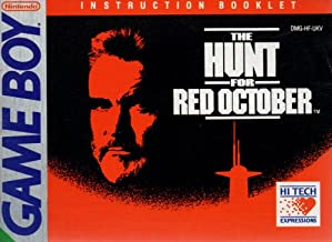 Hunt For Red October GB Instruction Booklet (Game Boy Manual Only - NO GAME) (Nintendo Game Boy Manual)