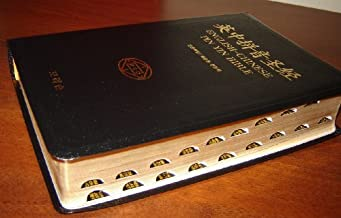 Ying zhong pin yin sheng jing / English-Chinese Pin Yin Bible