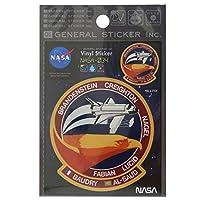 ビニール ステッカー[ビッグ シール]NASA/ナサ034 ゼネラルステッカー 宇宙 オフィシャル グッズ 通販