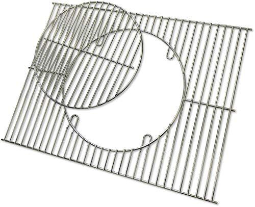 ACTIVA R-E-S Angulatus Verchromter Grillrost 71 x 46 cm Durchmesser ∅ 30,5 cm