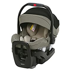 "Extend2Fit 4-position extension panel provides 3.5"" of extra leg room allowing your baby to safely ride rear-facing longer Snug Lock Technology - A Hassle-Free 3-Step installation using vehicle seat belt or LATCH Grows with and helps protect rear-fac..."