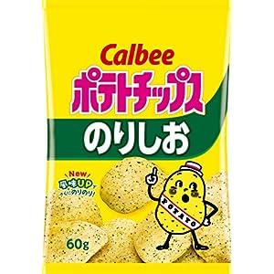 """カルビー ポテトチップス のりしお 60g × 12袋"""""""