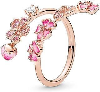 anello pandora fiore di ciliegio