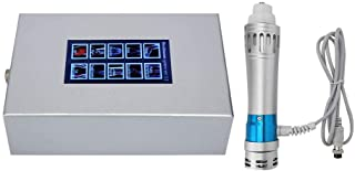 Máquina de Terapia de Ondas de Choque Extracorpórea Electromagnética Masajeador Muscular para Aliviar el Dolor Máquina Anticelulítica ED Tratamiento Mejorar la Circulación Sanguínea(110-240V)