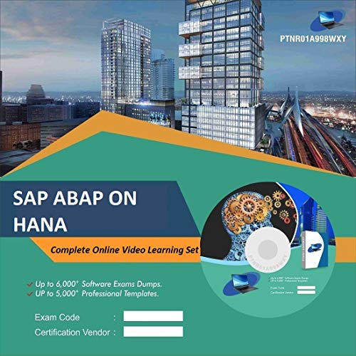 SAP ABAP ON HANA Complete Video Learning Solution Set (DVD)