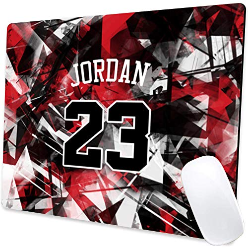 Gaming Mouse Pad,Jordan 016 Mouse Pad Non-Slip Rubber Base Mouse Pads for Computers Laptop Office,9.5'x7.9'x0.12' Inch(240mm x 200mm x 3mm)