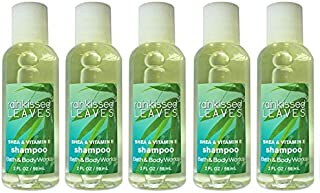 Rainkissed Leaves Shampoo - Set of 5, 2 Ounce Bottles